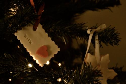il mio albero con le sue lucine ed i miei biscotti