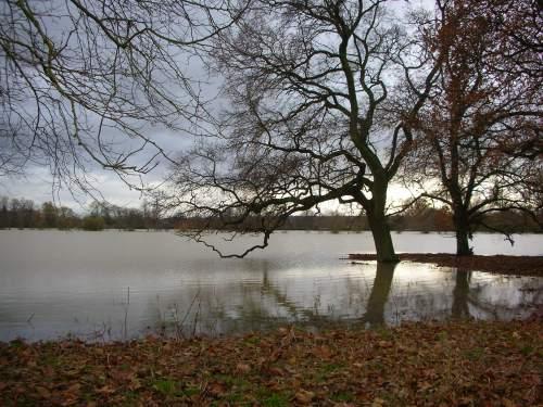 Oxford sotto l'acqua
